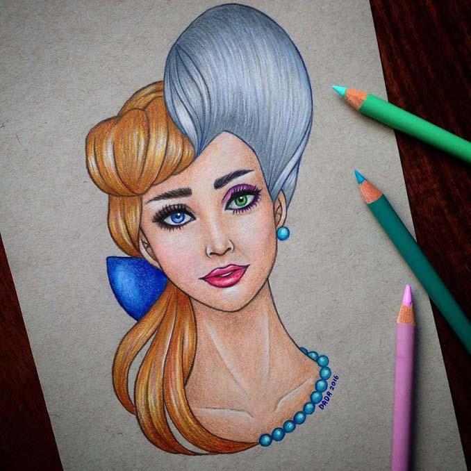 Αυτή η καλλιτέχνις ενώνει τους ήρωες της Disney με τους κακούς (9)