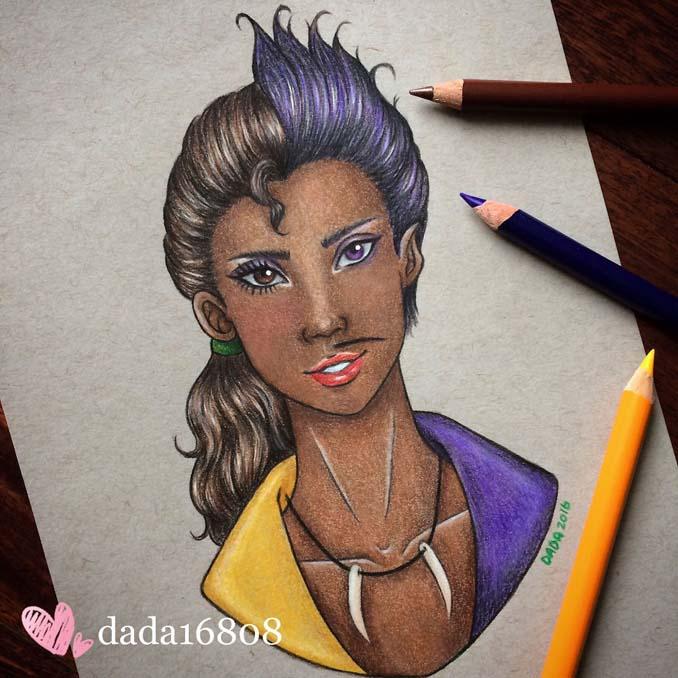 Αυτή η καλλιτέχνις ενώνει τους ήρωες της Disney με τους κακούς (13)