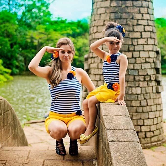 Μαμάδες και κόρες που μοιάζουν σαν το τέλειο δίδυμο (4)