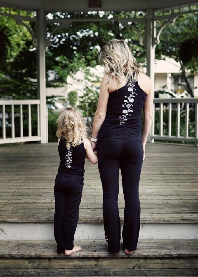 Μαμάδες και κόρες που μοιάζουν σαν το τέλειο δίδυμο (19)