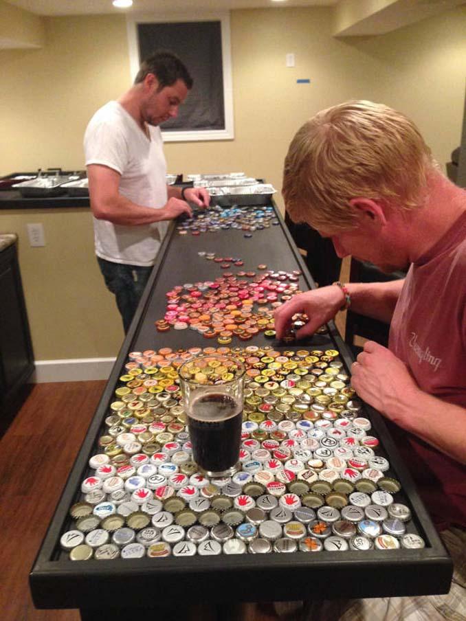 Μάζευε για 5 χρόνια καπάκια από μπουκάλια και έφτιαξε κάτι εντυπωσιακό (7)