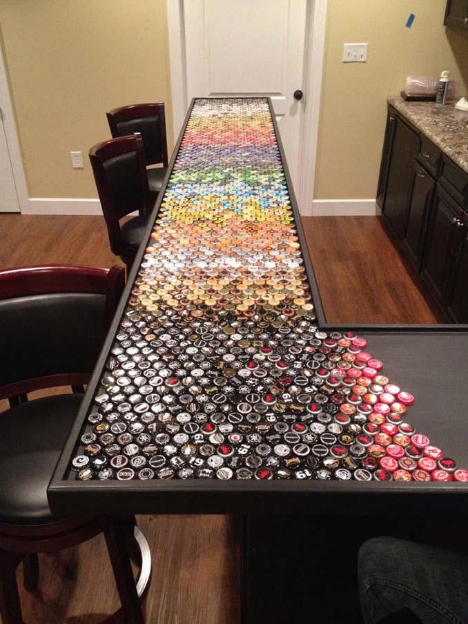 Μάζευε για 5 χρόνια καπάκια από μπουκάλια και έφτιαξε κάτι εντυπωσιακό (8)