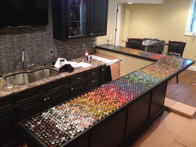 Μάζευε για 5 χρόνια καπάκια από μπουκάλια και έφτιαξε κάτι εντυπωσιακό (18)