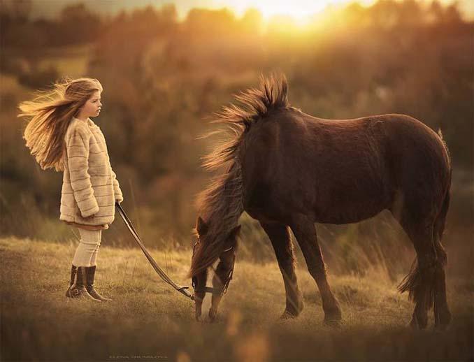 Παιδιά και ζώα από την Elena Shumilova (2)
