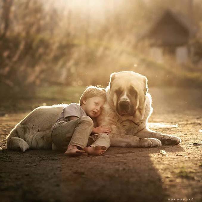 Παιδιά και ζώα από την Elena Shumilova (3)