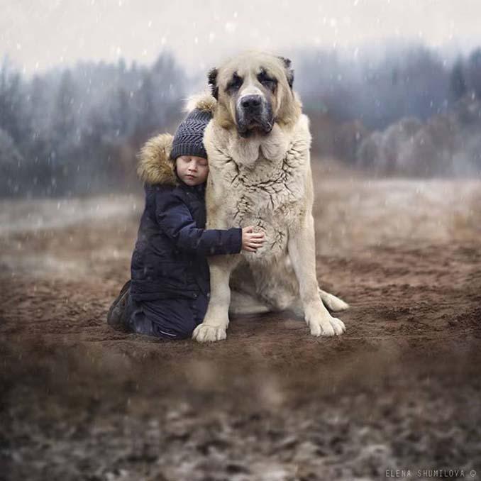 Παιδιά και ζώα από την Elena Shumilova (4)
