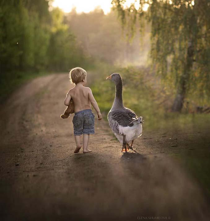 Παιδιά και ζώα από την Elena Shumilova (5)