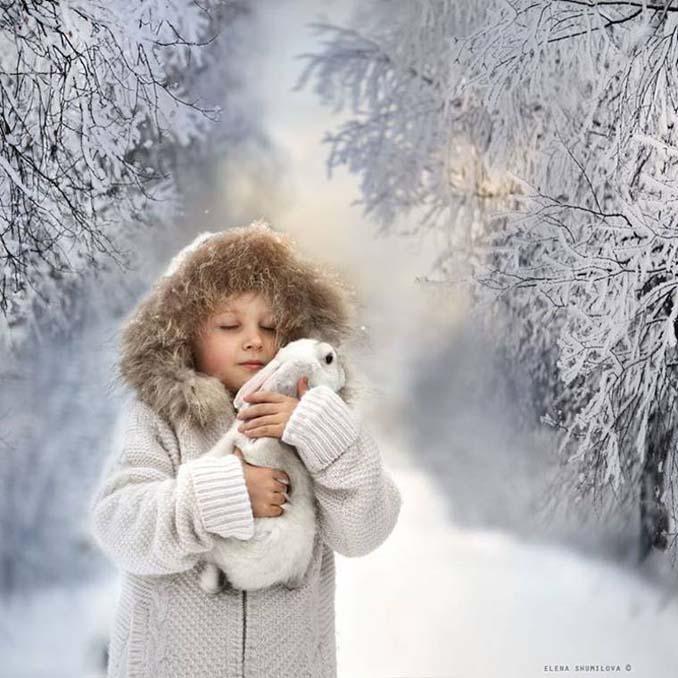 Παιδιά και ζώα από την Elena Shumilova (6)
