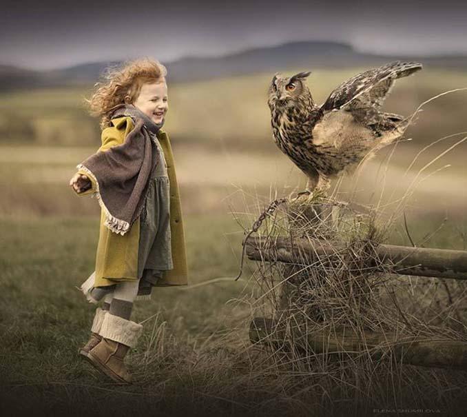 Παιδιά και ζώα από την Elena Shumilova (7)