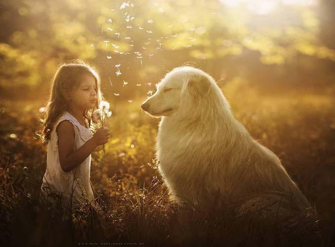 Παιδιά και ζώα από την Elena Shumilova (11)