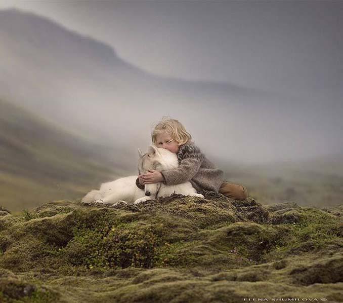 Παιδιά και ζώα από την Elena Shumilova (13)