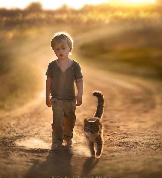 Παιδιά και ζώα από την Elena Shumilova (14)