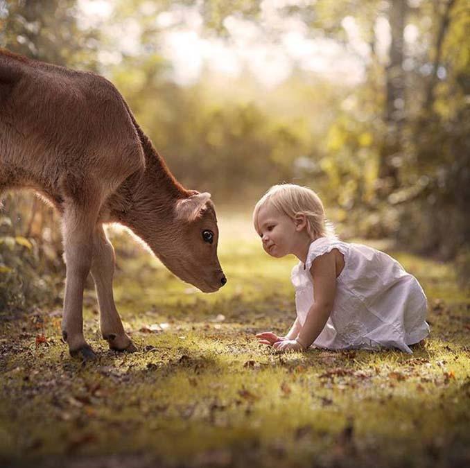 Παιδιά και ζώα από την Elena Shumilova (18)
