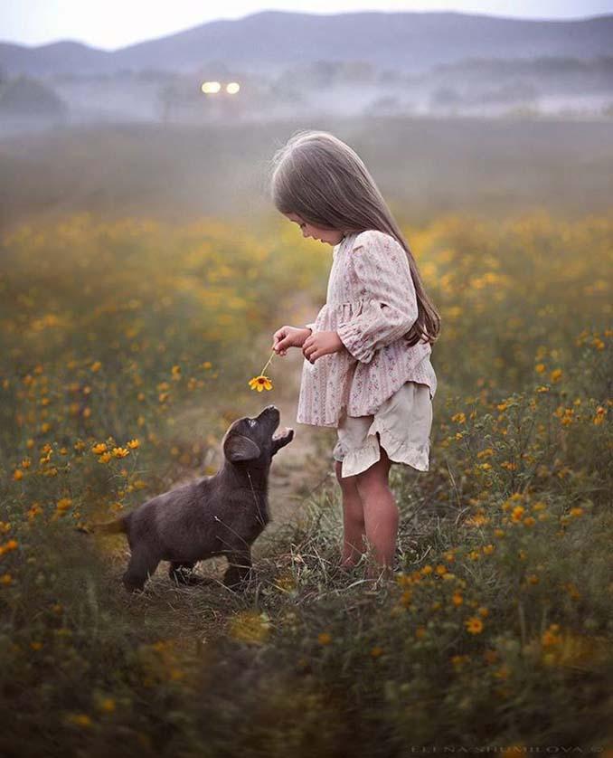 Παιδιά και ζώα από την Elena Shumilova (19)