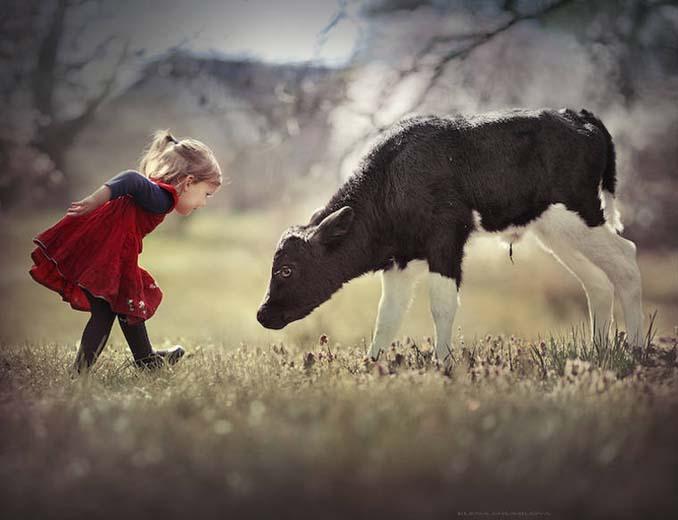 Παιδιά και ζώα από την Elena Shumilova (21)
