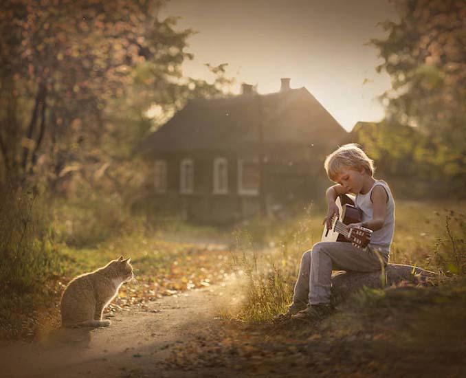 Παιδιά και ζώα από την Elena Shumilova (22)
