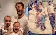 Πατέρας 4 κοριτσιών κατακτά το Instagram με τις τρελές φωτογραφίες της καθημερινότητας του
