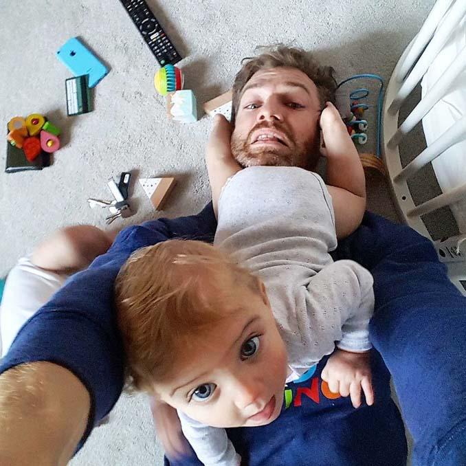 Πατέρας 4 κοριτσιών κατακτά το Instagram με τις τρελές φωτογραφίες της καθημερινότητας του (4)