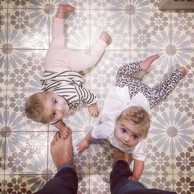 Πατέρας 4 κοριτσιών κατακτά το Instagram με τις τρελές φωτογραφίες της καθημερινότητας του (8)