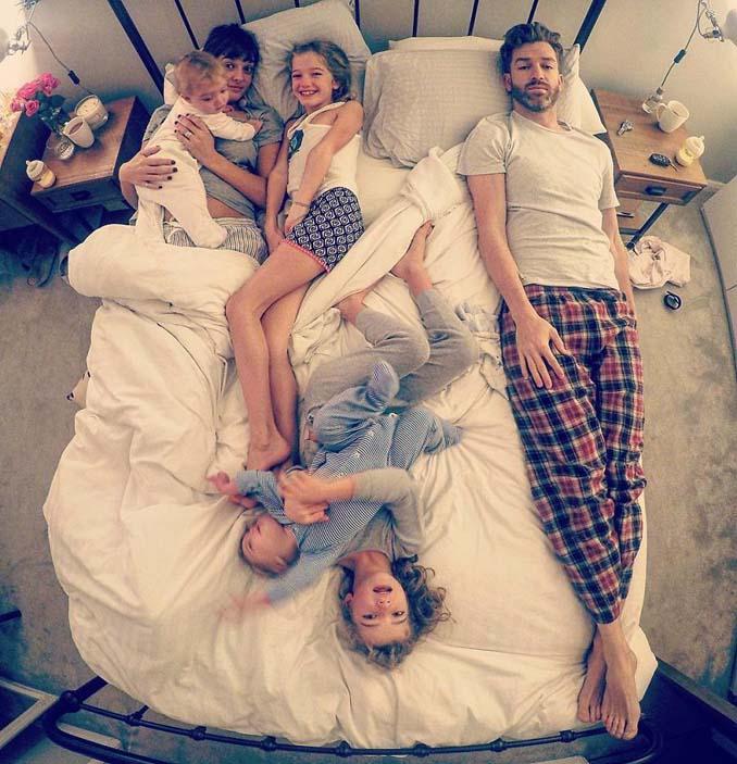 Πατέρας 4 κοριτσιών κατακτά το Instagram με τις τρελές φωτογραφίες της καθημερινότητας του (13)