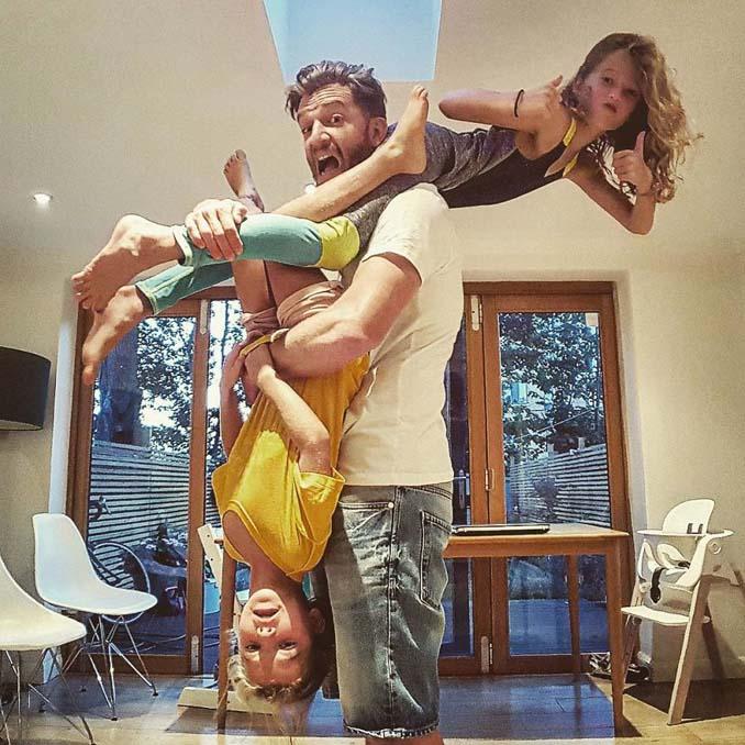 Πατέρας 4 κοριτσιών κατακτά το Instagram με τις τρελές φωτογραφίες της καθημερινότητας του (15)