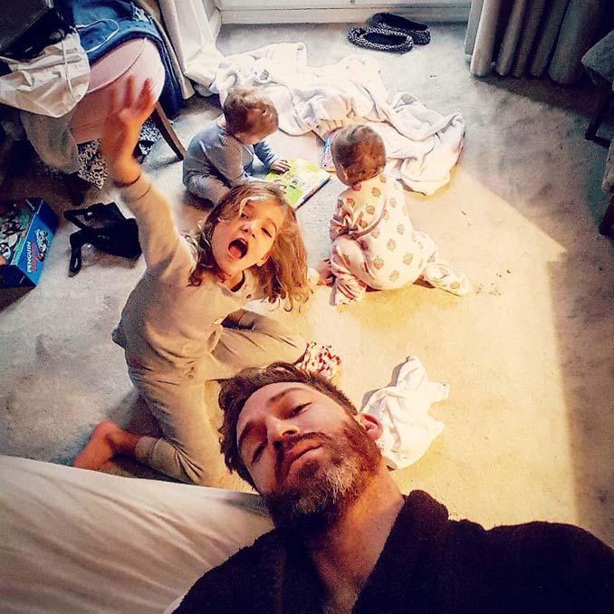 Πατέρας 4 κοριτσιών κατακτά το Instagram με τις τρελές φωτογραφίες της καθημερινότητας του (18)