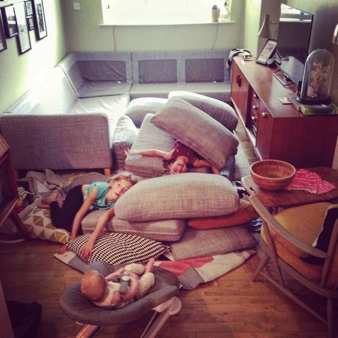 Πατέρας 4 κοριτσιών κατακτά το Instagram με τις τρελές φωτογραφίες της καθημερινότητας του (19)