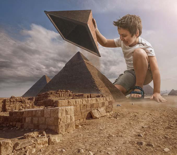 Πατέρας τοποθετεί τον γιο του σε απίστευτα σκηνικά χρησιμοποιώντας το Photoshop (6)