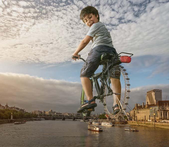 Πατέρας τοποθετεί τον γιο του σε απίστευτα σκηνικά χρησιμοποιώντας το Photoshop (10)