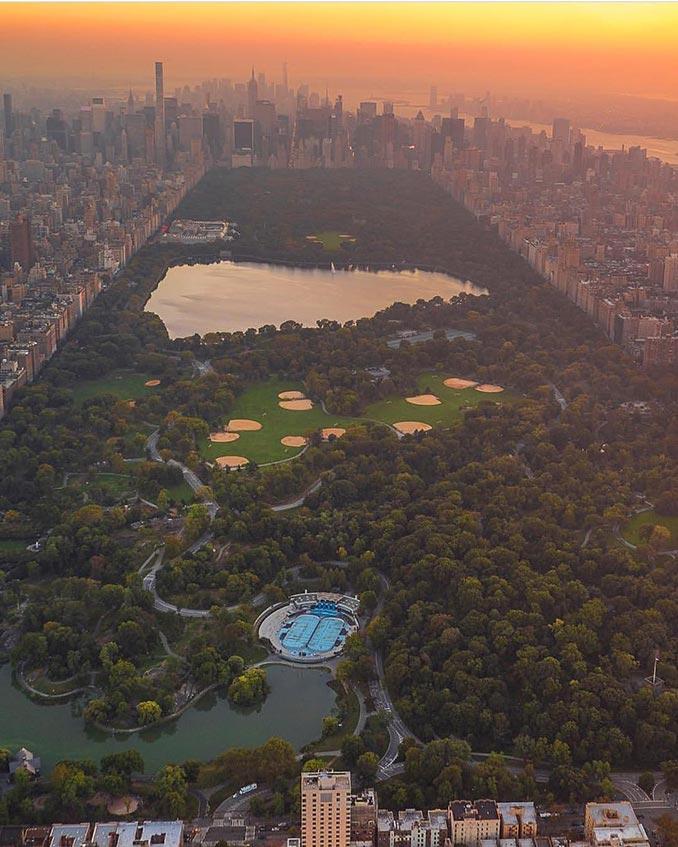 Με θέα το Central Park της Νέας Υόρκης από ψηλά | Φωτογραφία της ημέρας