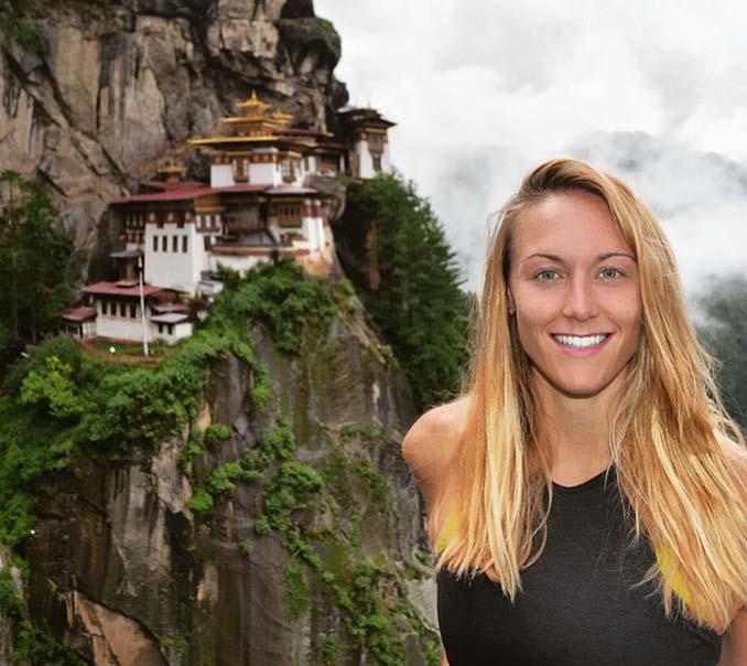 27χρονη θα γίνει η πρώτη γυναίκα που επισκέπτεται όλες τις χώρες στον πλανήτη (3)