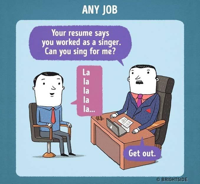 Πώς θα ήταν η συνέντευξη για δουλειά σε διάσημες εταιρείες (4)