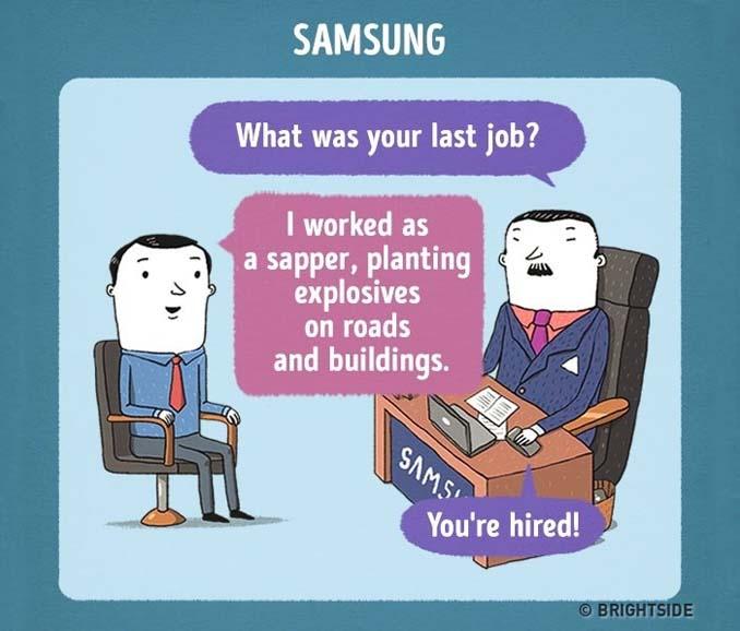 Πώς θα ήταν η συνέντευξη για δουλειά σε διάσημες εταιρείες (10)