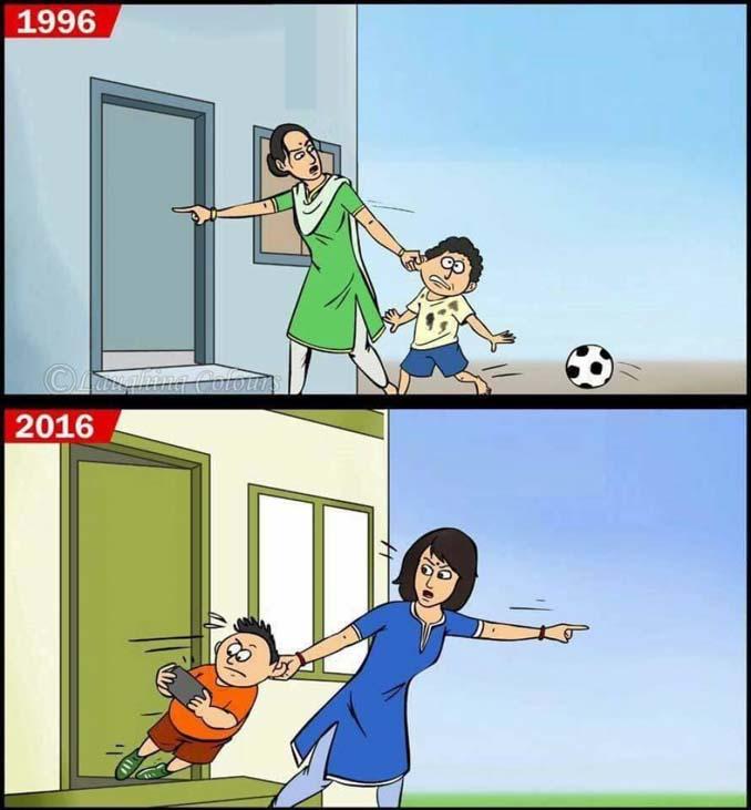 Σκίτσα που δείχνουν πόσο έχει αλλάξει το Internet την ζωή μας (1)