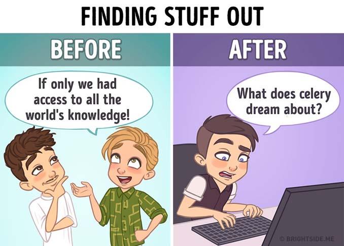 Σκίτσα που δείχνουν πόσο έχει αλλάξει το Internet την ζωή μας (2)