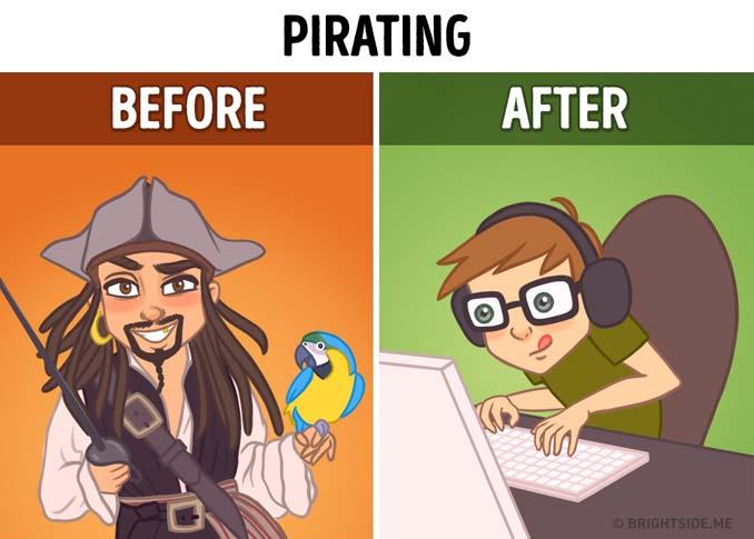 Σκίτσα που δείχνουν πόσο έχει αλλάξει το Internet την ζωή μας (7)