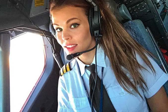 Σουηδέζα πιλότος κατακτά το Internet με την hot yoga της (3)