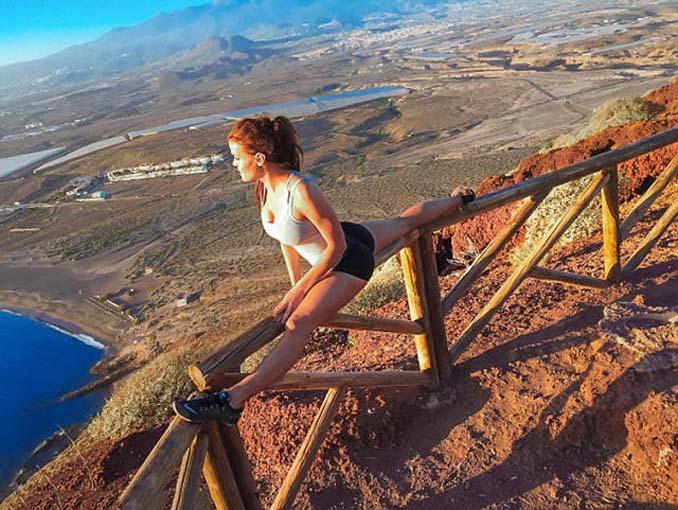 Σουηδέζα πιλότος κατακτά το Internet με την hot yoga της (7)