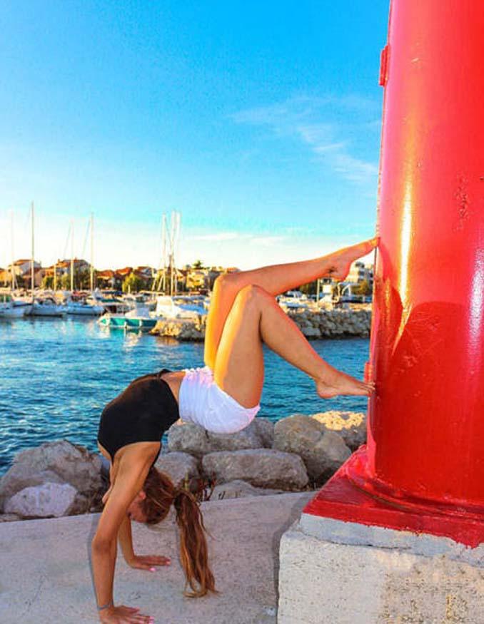Σουηδέζα πιλότος κατακτά το Internet με την hot yoga της (9)