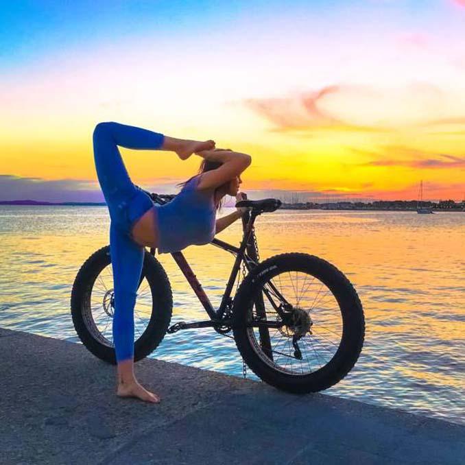 Σουηδέζα πιλότος κατακτά το Internet με την hot yoga της (15)