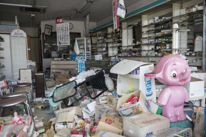 Μια σπάνια ματιά στην πόλη φάντασμα της Φουκουσίμα (4)