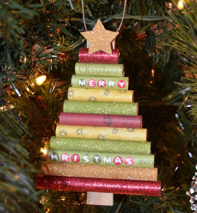 Χειροποίητα χριστουγεννιάτικα στολίδια (2)