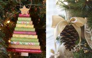 15 χειροποίητα χριστουγεννιάτικα στολίδια για να πάρετε ιδέες