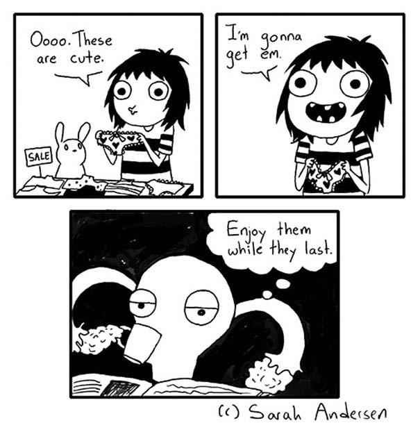 Χιουμοριστικά σκίτσα για την περίοδο που μόνο οι γυναίκες θα καταλάβουν (7)