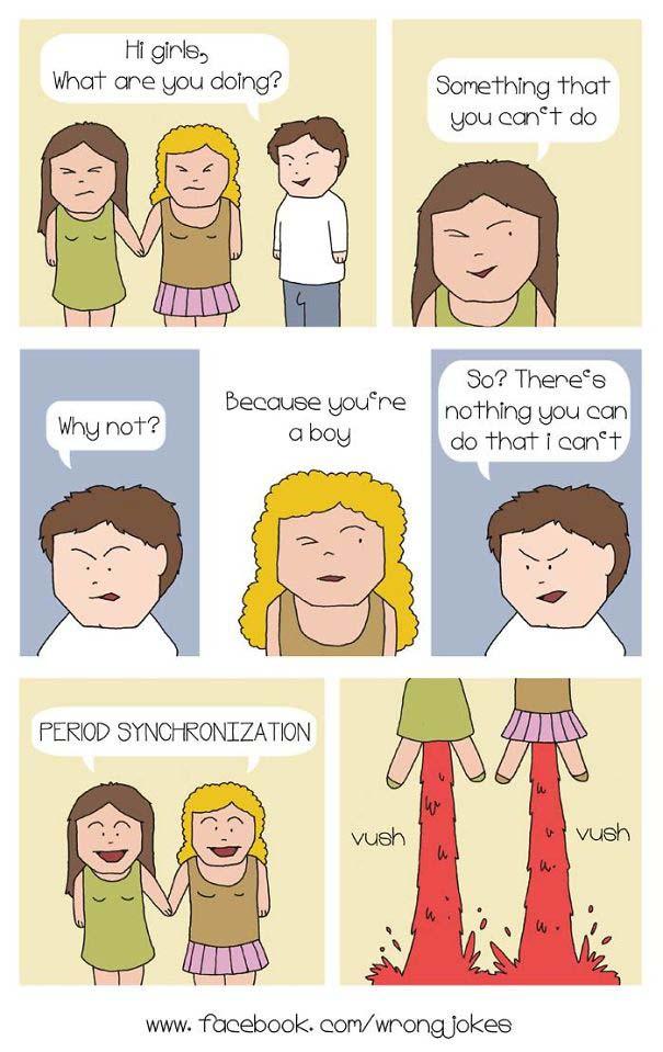 Χιουμοριστικά σκίτσα για την περίοδο που μόνο οι γυναίκες θα καταλάβουν (20)