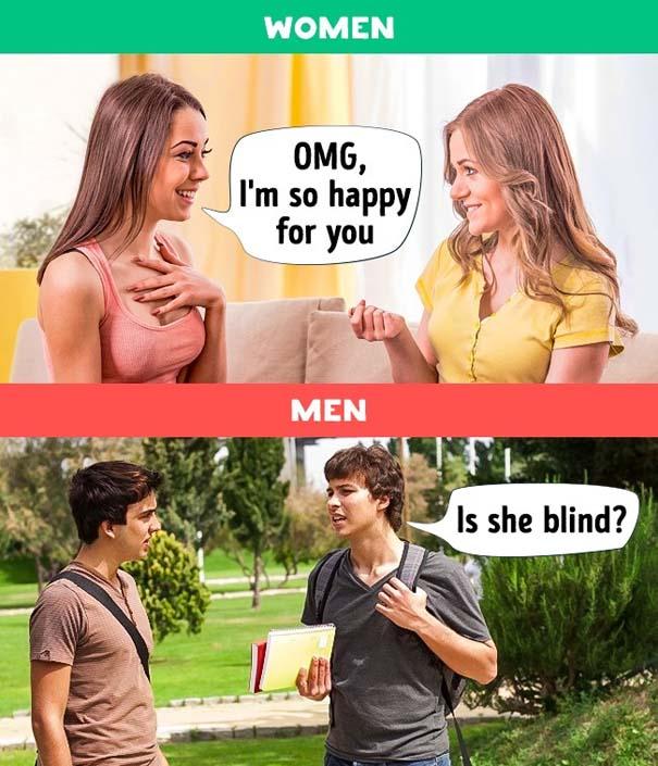 10 διαφορές μεταξύ ανδρών και γυναικών (1)