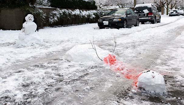 Δημιουργικοί χιονάνθρωποι που χαρίζουν άφθονο γέλιο (5)