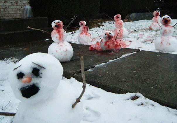 Δημιουργικοί χιονάνθρωποι που χαρίζουν άφθονο γέλιο (8)