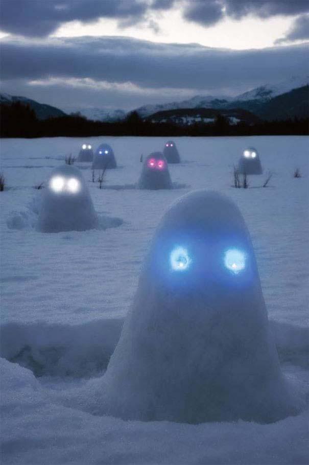 Δημιουργικοί χιονάνθρωποι που χαρίζουν άφθονο γέλιο (13)