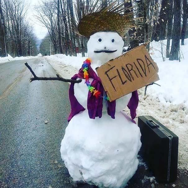 Δημιουργικοί χιονάνθρωποι που χαρίζουν άφθονο γέλιο (23)